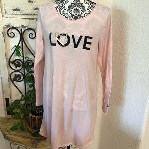 Victoria's Secret pink night shirt
